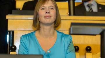 Естония за първи път с президент жена