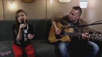 Крисия от Детската Евровизия също пожела успех на Кристиан Костов