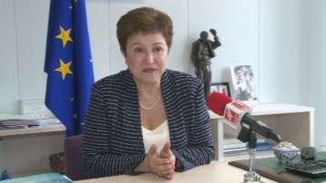 Кристалина Георгиева насърчи бизнеса да се възползва от плана Юнкер