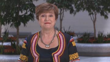 Кристалина Георгиева с видеообръщение: Аз се гордея, че съм българка