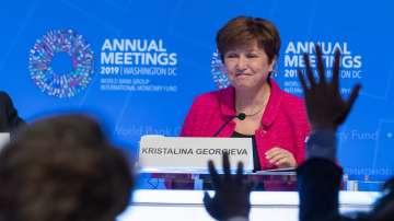Кристалина Георгиева даде специална пресконференция във Вашингтон