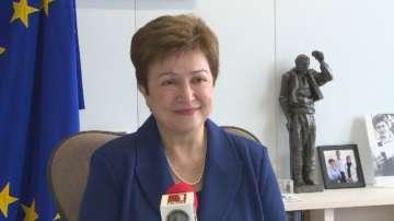 Кристалина Георгиева пред БНТ: Оставката ми не е отмъщение към Бойко Борисов