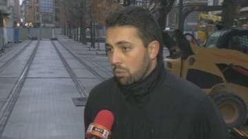 Евгени Крусев: Tрамвайното трасе на Граф Игнатиев ще бъде готово до Коледа