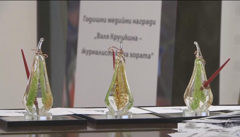 Репортерът на БНТ Татяна Йорданова е победител в категорията журналист