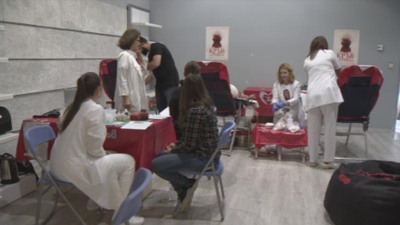 Снимка: Фенове на Игра на тронове се включиха в акция по кръводаряване