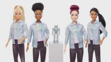 Кукла Барби стана инженер по роботика