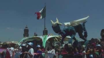 Парад на куклите в Мексико