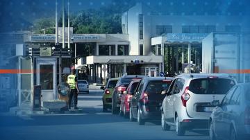 Дълги колони от автомобили на ГКПП Капитан Андреево