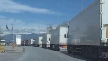 Недоволството на българските шофьори от блокадата на гръцките фермери