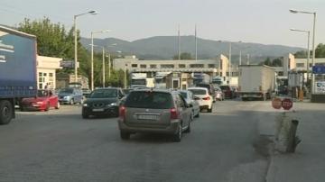 Километрични задръствания и изнервени шофьори на граничния пункт Кулата