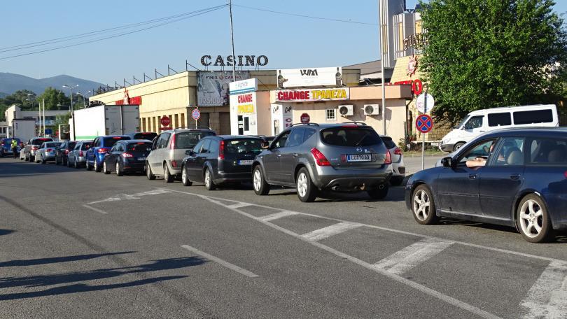 снимка 3 Засилен трафик на граничните пунктове в посока Гърция (СНИМКИ)
