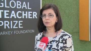 Просветният министър Меглена Кунева коментира позицията на Моника Маковей