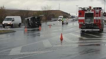 Катастрофа с пътнически автобус в Кърджали