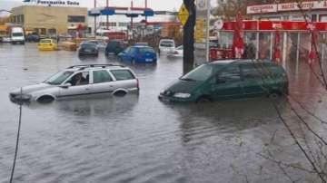 Наводнения в Кърджали след поройния дъжд