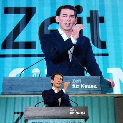 Австрия - сблъсък между лявото и дясното
