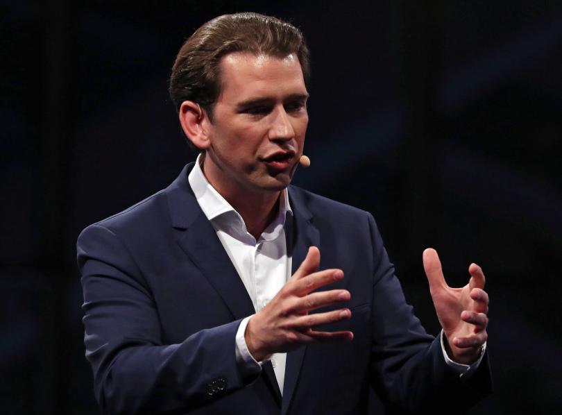 Две седмици преди евровота австрийският канцлер Себастиан Курц обвинява Брюксел