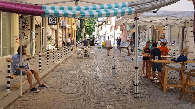 Инициатива за обособяване на културен квартал се проведе в района