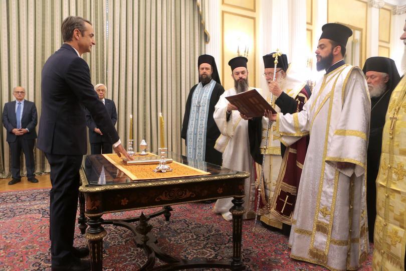 снимка 1 Мицотакис положи клетва като премиер на Гърция