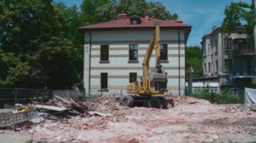 Събориха къща - паметник на културата в Пловдив