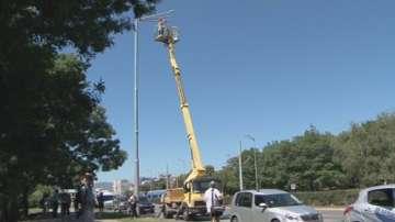 Сменят 1000 улични лампи по бул. България в София