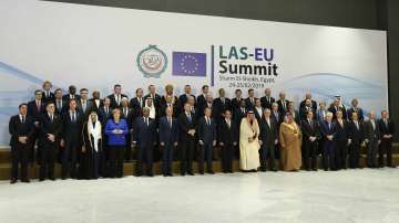 Втори ден на срещата на най-високо равнище ЕС - Арабска лига