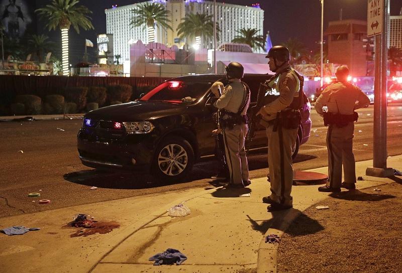снимка 4 Стрелбата в Лас Вегас в снимки и видеа на очевидци