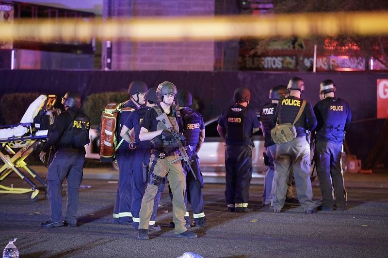 снимка 5 Стрелбата в Лас Вегас в снимки и видеа на очевидци