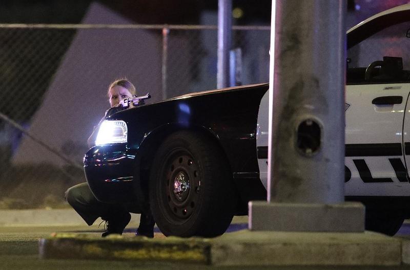 снимка 7 Стрелбата в Лас Вегас в снимки и видеа на очевидци