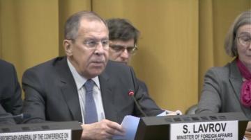 В Женева Сергей Лавров коментира ядреното разоръжаване