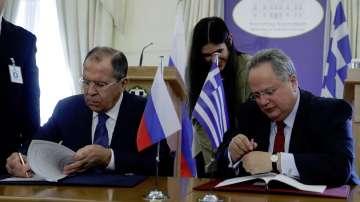Руският външен министър на посещение в Гърция