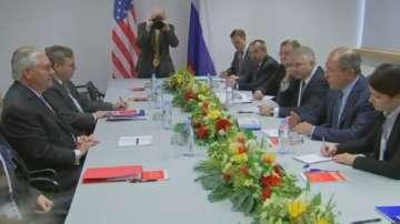 Първа среща между първите дипломати на САЩ и Русия