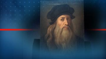 За първи път - учени изследват кичур от косата на Леонардо да Винчи