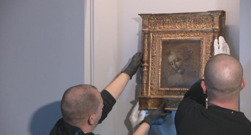 лувъра представят мащабната изложба посветена леонардо винчи