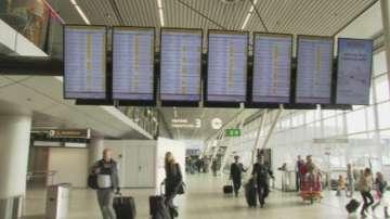 Отмениха полети на летище Схипхол заради силен вятър