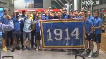"""Фенове на """"Левски са били нападнати в хърватския град Задар"""