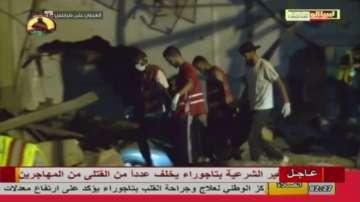 Десетки жертви след атака срещу имигрантски лагер в Либия