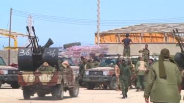 Военните действия в Либия ескалират