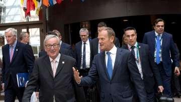 Европейските лидери се събират в Брюксел за решаваща среща преди Брекзит