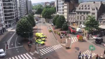 Трима души са убити, след като мъж откри стрелба по полицаи в Лиеж
