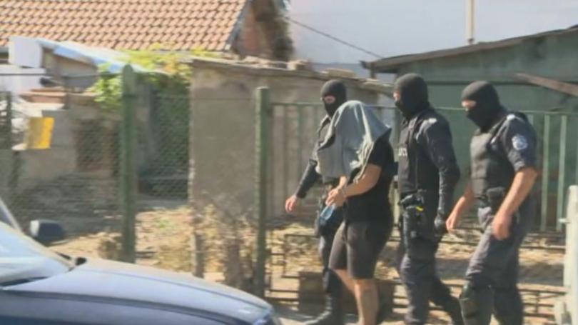 На четирима от задържаните в столичния квартал