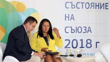 Министър Лиляна Павлова видя признание за България в речта на Юнкер