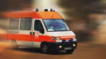 Катастрофа с линейка на русенската болница, превозвала бебе към София