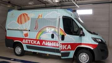 Първата линейка за недоносени бебета и деца в България
