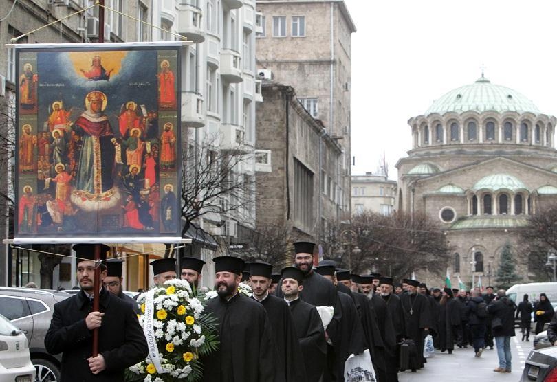 снимка 3 Литийно шествие по повод 140 от Освобождението на София (СНИМКИ)