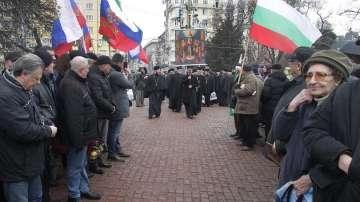 Литийно шествие по повод 140 от Освобождението на София (СНИМКИ)
