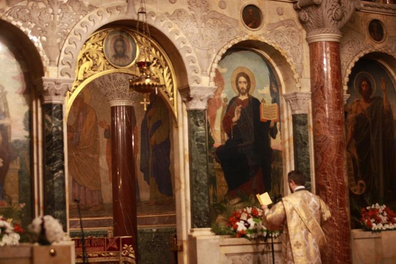 светли понеделник пасхална света литургия александър невски