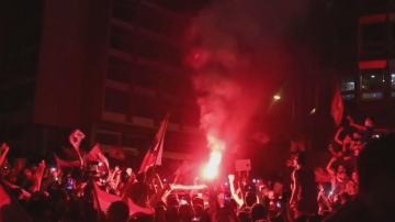 Четвърта нощ на протести в Бейрут