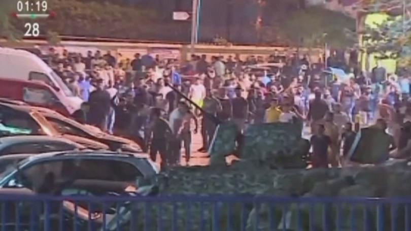 По време на сблъсъци в Ливан между демонстранти и полиция