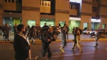 Демонстрантни в Ливан бяха разпръснати със сълзотворен газ