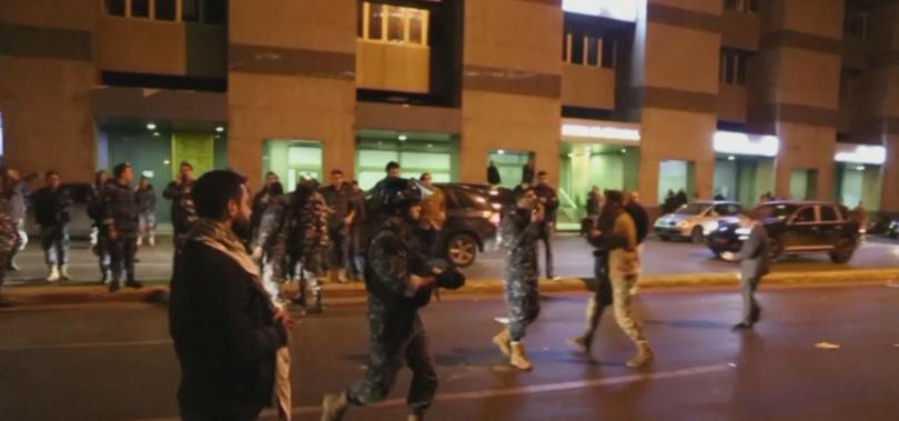 Ливанските сили за сигурност използваха сълзотворен газ, за да разпръснат